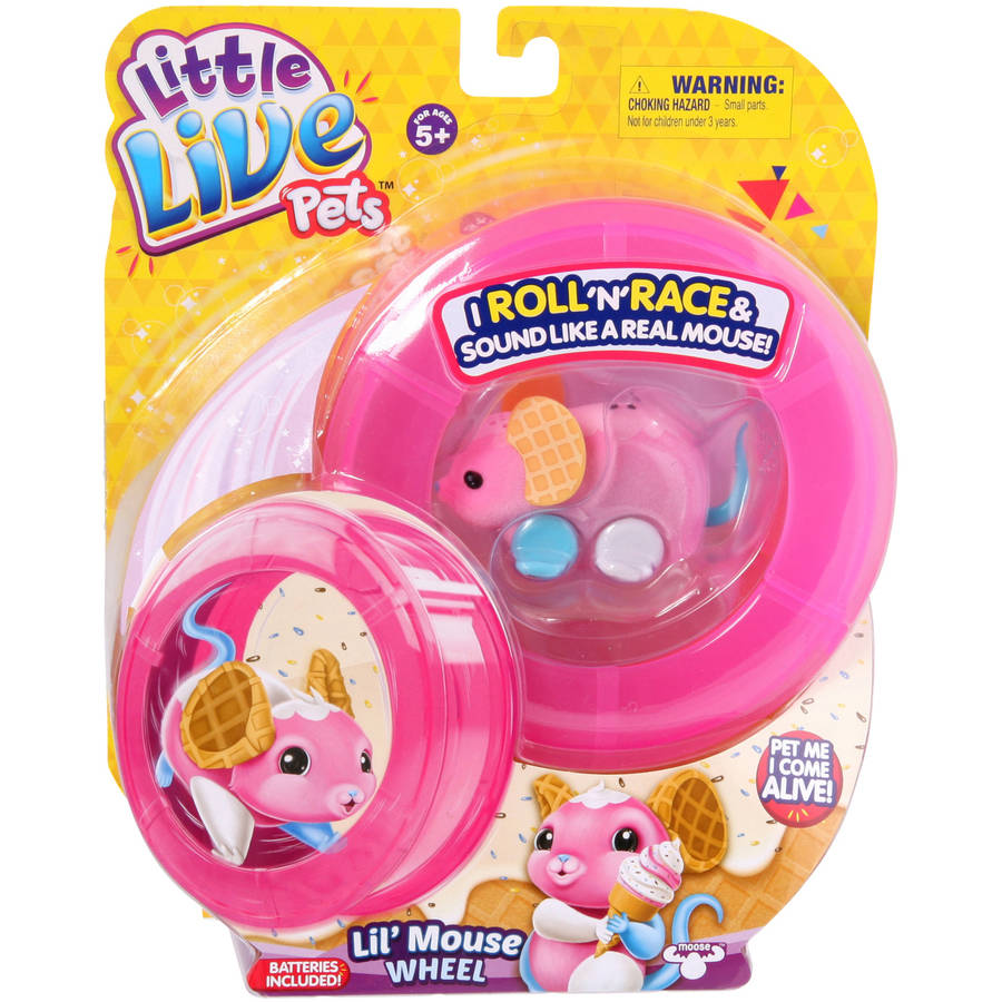 Little Live Pets Lil' Mouse Wheel, Waffles