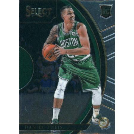 Boston Basketball Stadium - 2017-18 Panini Select #19 Daniel Theis Boston Celtics Rookie Basketball Card