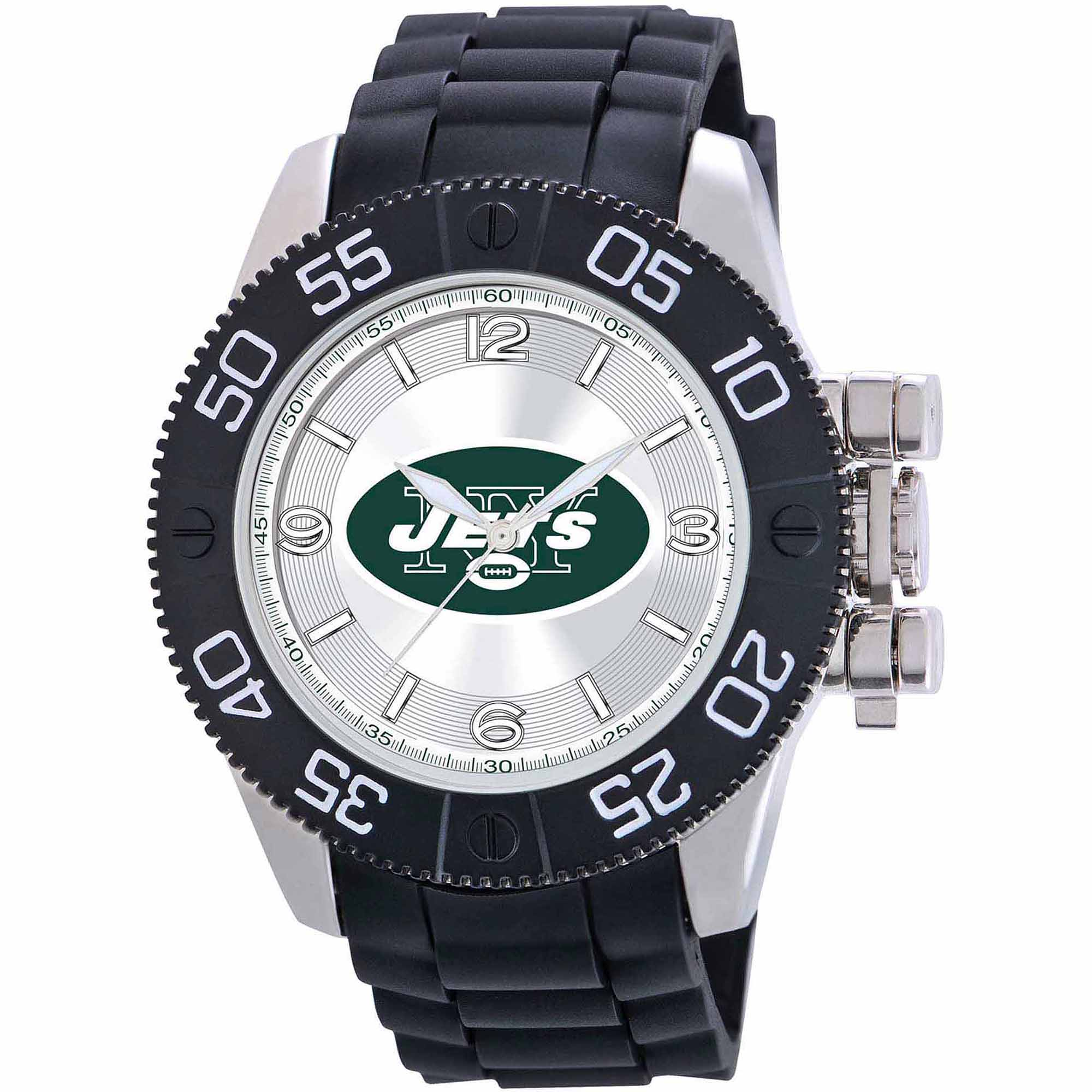 Game Time NFL Men's New York Jets Beast Series Watch