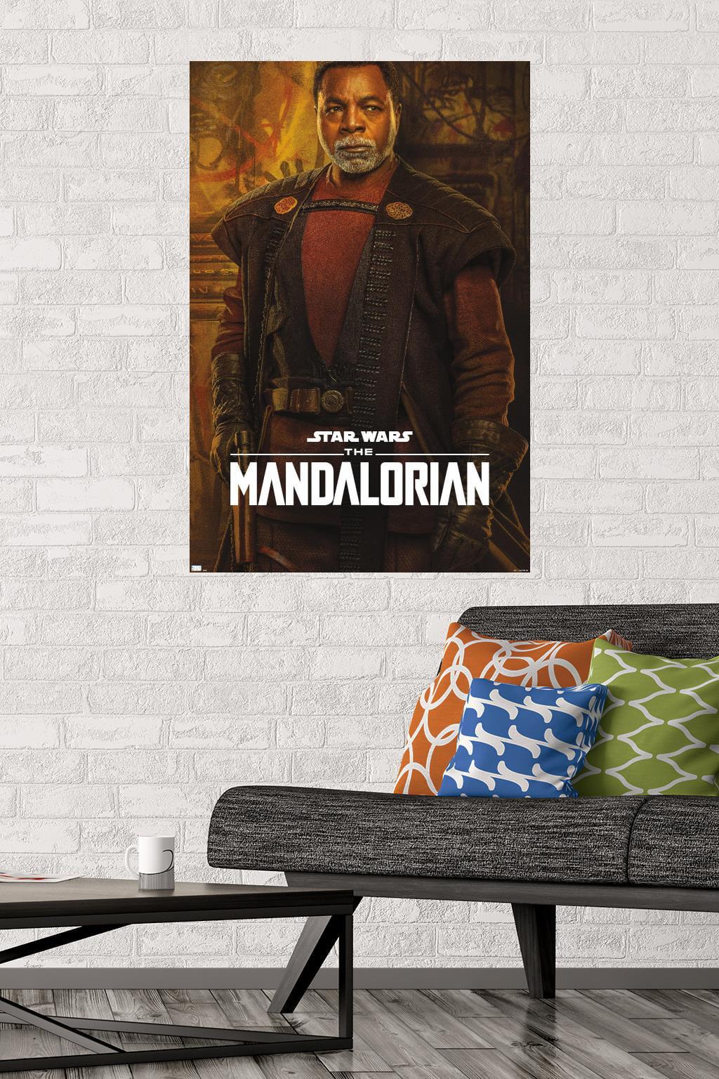 New Gicl\u00e9e Art Print Season 2 Promo for TV Series The Mandalorian Greef Karga