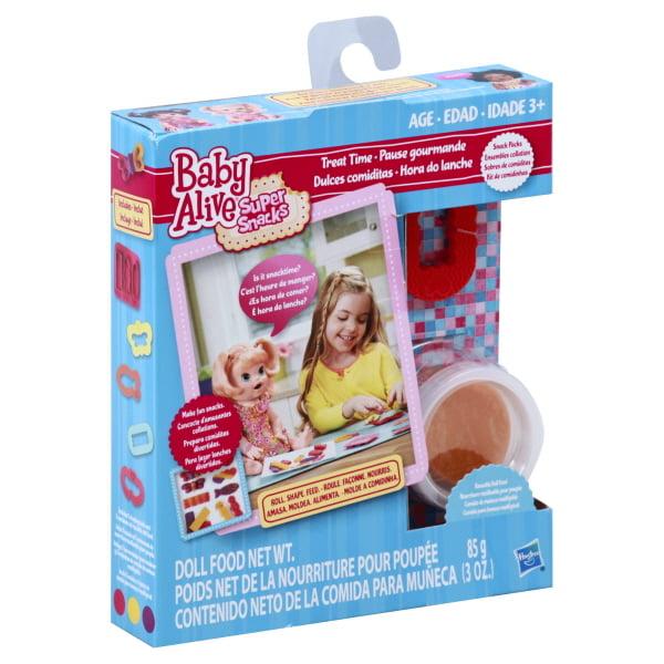 Baby Alive Super Snacks Treat Time Snack Pack Walmart Com Walmart Com