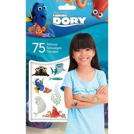 Tattoo - Standard Tattoo Bag 75ct - Disney - Finding Dory New tt2084 - Dora Tattoos