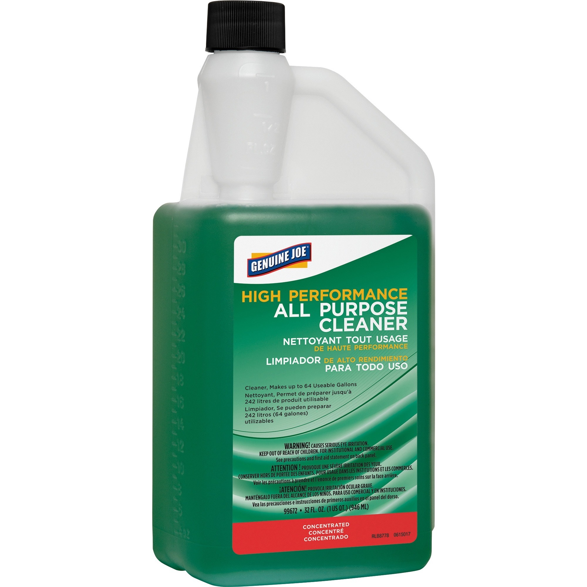 Genuine Joe, GJO99672, All-purpose Cleaner, 1 Each, Green