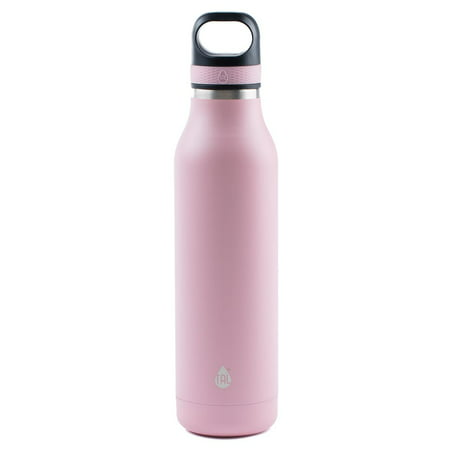 Folding Thermos Stainless Steel Bottle (Tal Blush 24 Ounce Double Wall Vacuum Insulated Stainless Steel Ranger Sport Water Bottle )