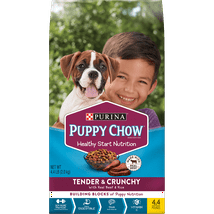 Dog Food: Purina Puppy Chow Tender & Crunchy