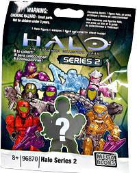 Mega Bloks Halo Series 2 Minifigure Mystery Pack by