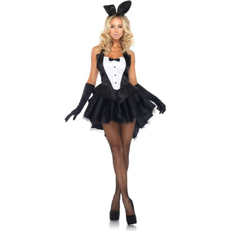 Leg Avenue Tux and Tails Bunny Adult Halloween - Tuxedo Bunny Costume