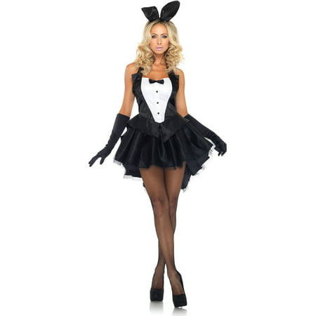 Leg Avenue Tux and Tails Bunny Adult Halloween Costume