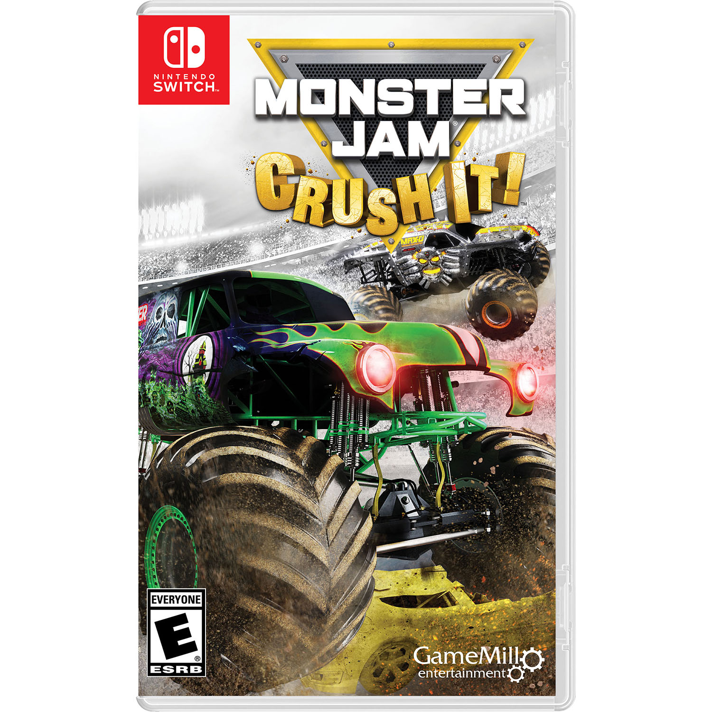 Monster Jam Crush It, Gamemill, Nintendo Switch, 834656000448