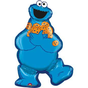 Cookie Monster Balloon (each) - Party Supplies