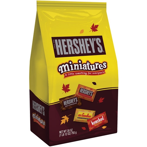 Hershey's Miniatures Assorted Candy, 28 oz