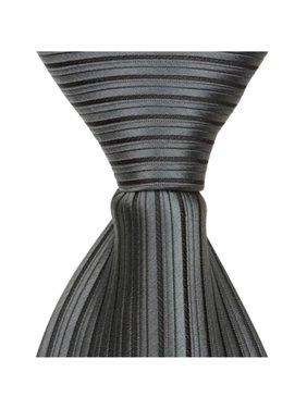 1ca2b03f7b40 Product Image Matching Tie Guy 2671 S1 - 15.25 in. Zipper Necktie - Dark  Grey, 8