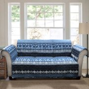 Lambert tie dye furniture protectors, navy sofa couch cover