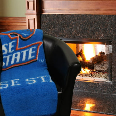 Jersey Sherpa Throw (NCAA Boise State Broncos