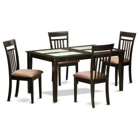 Pc Upholstered Dining Table Set