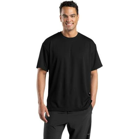 Sport-Tek K468 Mens Dri-Mesh Short Sleeve T-Shirt - Black - - Xs Scuba Steel Tank