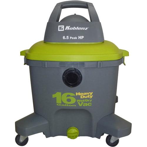 Koblenz 16 Gallon Wet-Dry Vacuum Cleaner