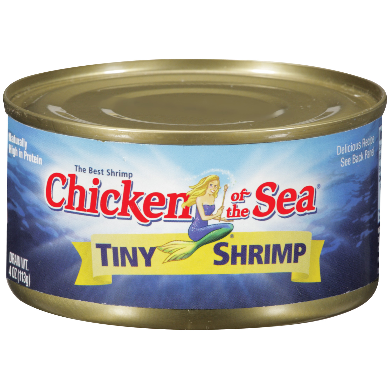 CHICKEN OF THE SEA Tiny Shrimp 4 OZ CAN by Chicken of The Sea International