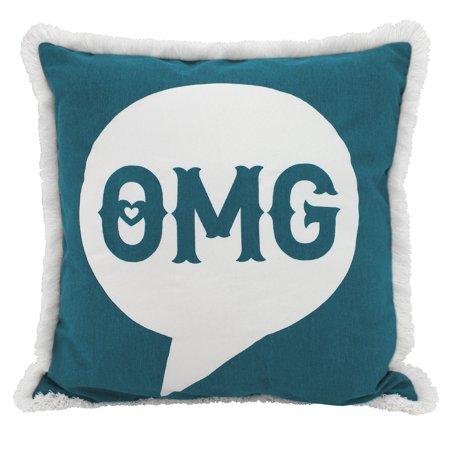 Better Homes & Gardens OMG Fringe Pillow