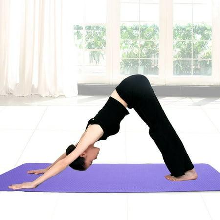 Mansov Yoga Mat Non Slip Eco Friendly Extra Thick High Density Anti-Tear  Rubber Yoga Mat ... 1362c06719781