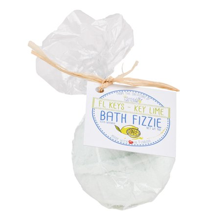 Florida Salt Scrub Bath Fizzie Personal Care 4 oz. Key Lime