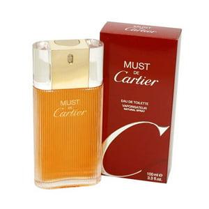Must De Cartier Eau De Toilette Spray 3.3 Oz | 100 Ml