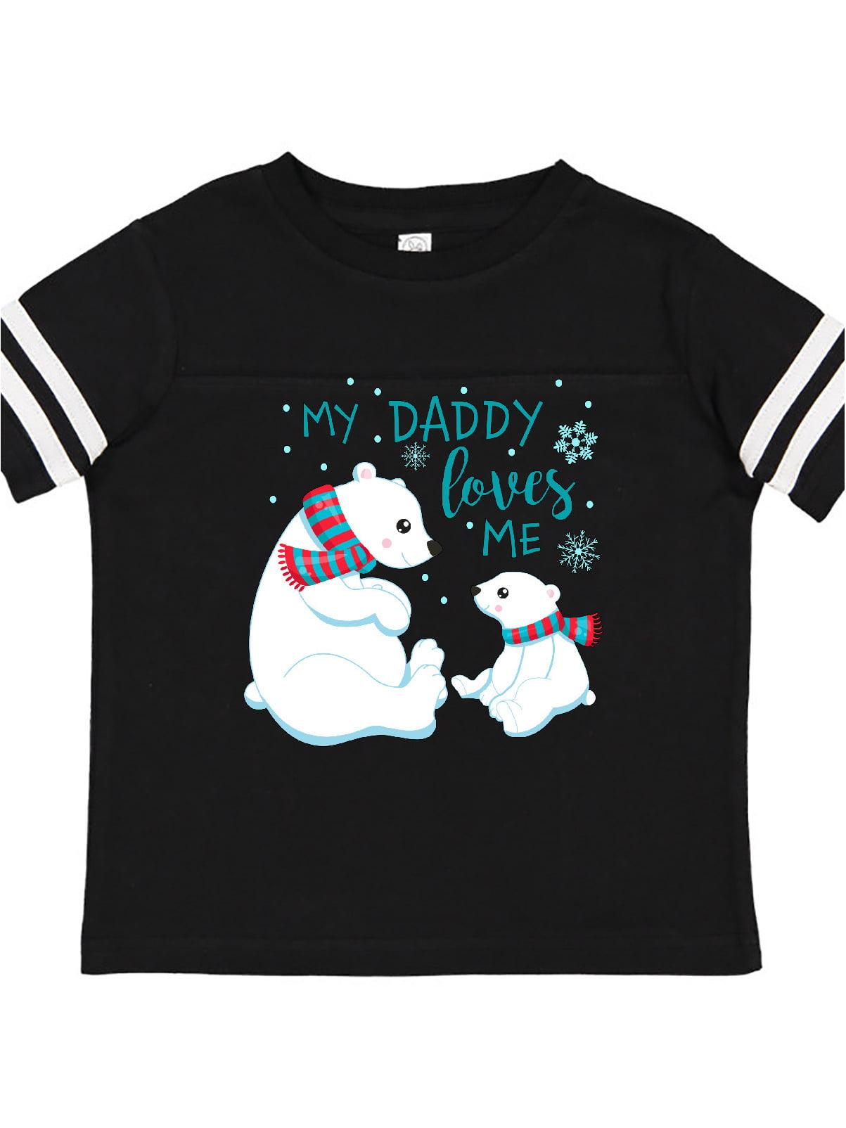 inktastic Daddys Little Bear Cub Toddler T-Shirt