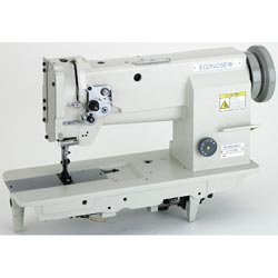 Econosew Heavy-Duty Lockstitch Machine 211E8BL w/ Walking Foot, Table & Motor ()