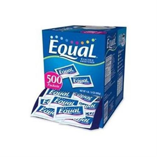 Equal 0 Calorie Sweetener Packets  500 ea (Pack of 2)