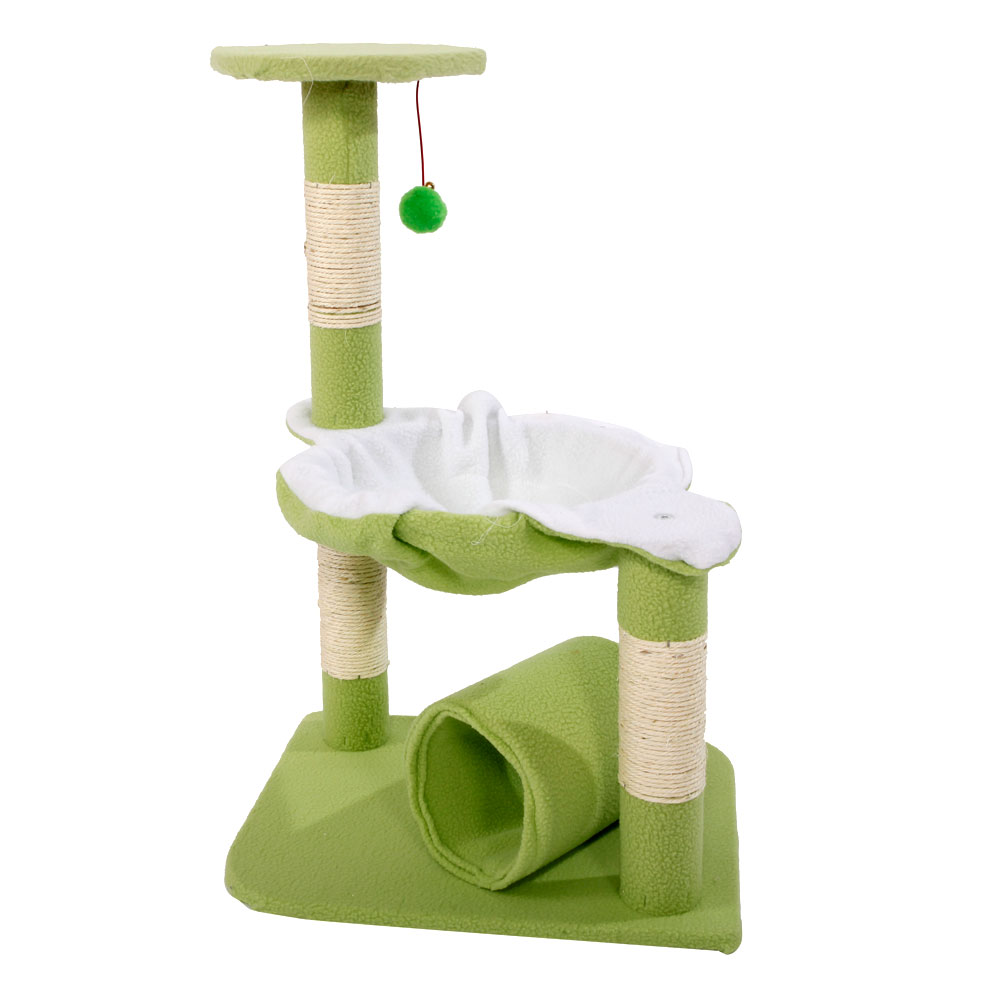 "Ktaxon 28"" Cat Tree Tower Condo Sisal Scratcher Furniture Kitten Pet House Hammock by"