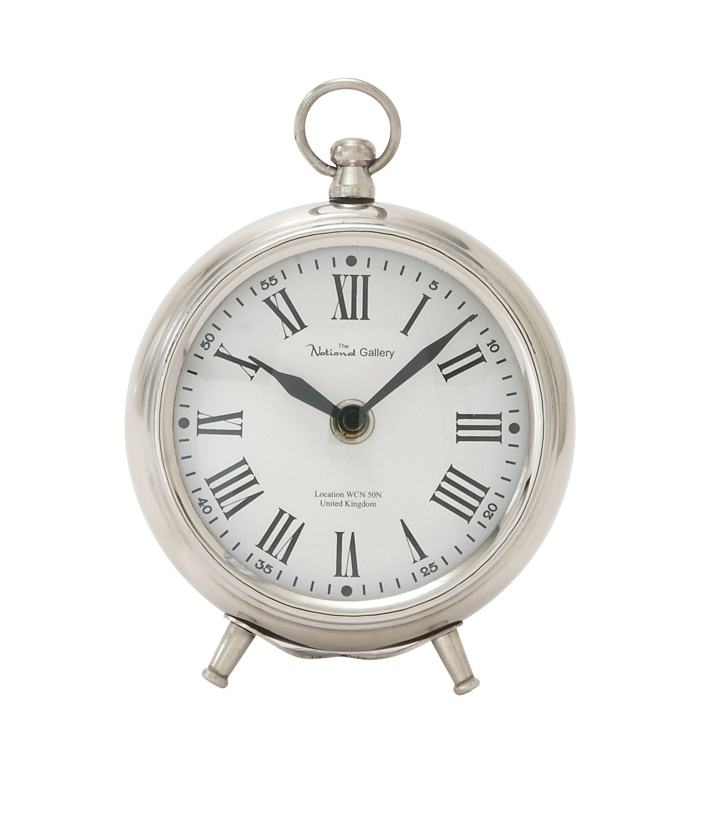 40688 Metal Table Clock by Benzara