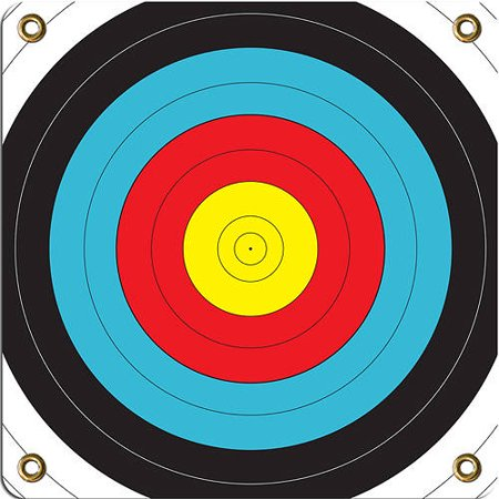 "Arrowmat LLC Foam Rubber Range Target Face, 17"" x 17"" thumbnail"