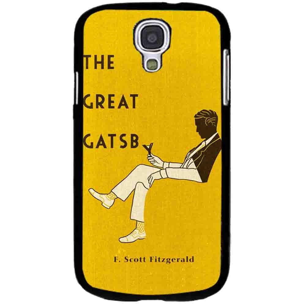 Ganma the great gatsby f scott fizgerald cover book Case For Samsung Galaxy Case (Case For Samsung Galaxy S4 White)