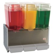 CRATHCO D35-3 Cold Beverage Dispenser, 5 Gal, 3 Bowls by CRATHCO