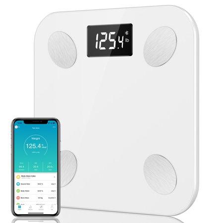 JUMPER Bluetooth Body Fat Scale Smart BMI Scale Digital Bathroom Wireless Weight...
