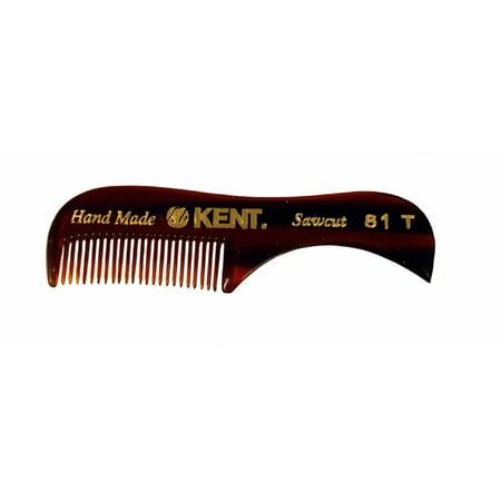 Kent The Hand Made Comb Beard & Moustache Comb Sawcut 81t ()
