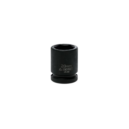 Teng Tools 20mm 1/2 Inch Drive 6 Point Regular Metric Impact Socket -