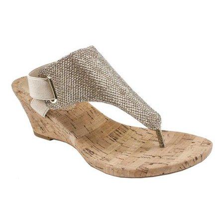 Women's White Mountain All Good Wedge Sandal