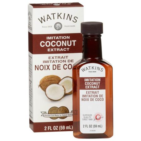 Watkins Imitation Coconut Extract  2 Fl Oz