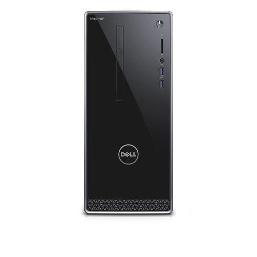 Dell Black Inspiron 3656 Desktop PC with AMD A8-8600P Processor, 8GB