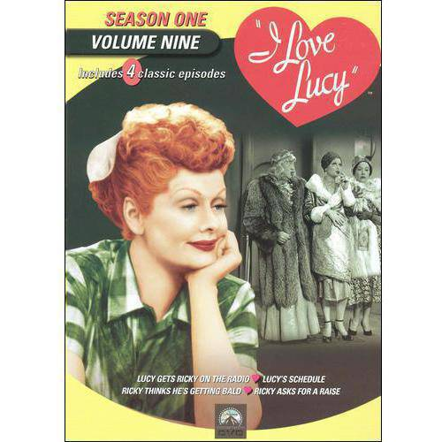 I Love Lucy: Season 1, Vol. 9