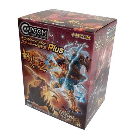 Monsters Singles (Capcom Monster Hunter Cfb Anger Ver. 2 Action Figures (Single Random Blind Box))