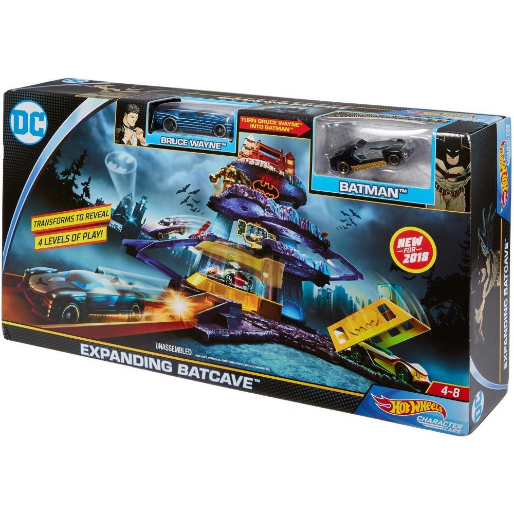 84b2c73982e7 Hot Wheels DC Universe Expanding Batcave Playset - Walmart.com