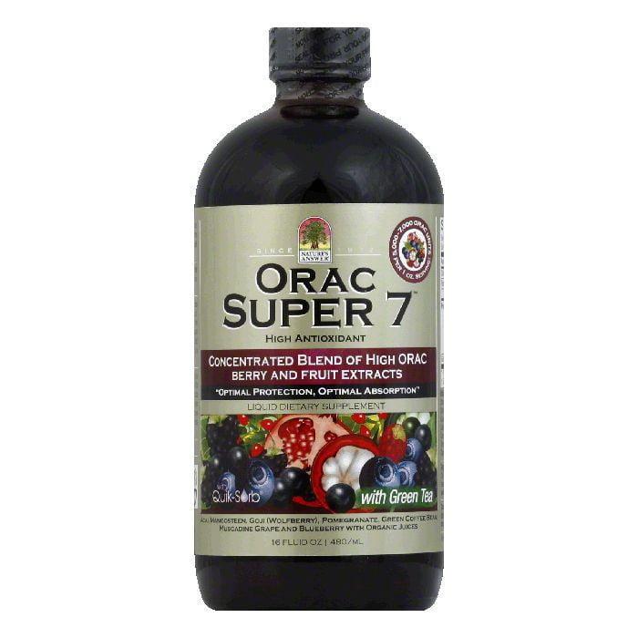 Nature's Answer ORAC Super 7 Liquid Platinum, 16 OZ