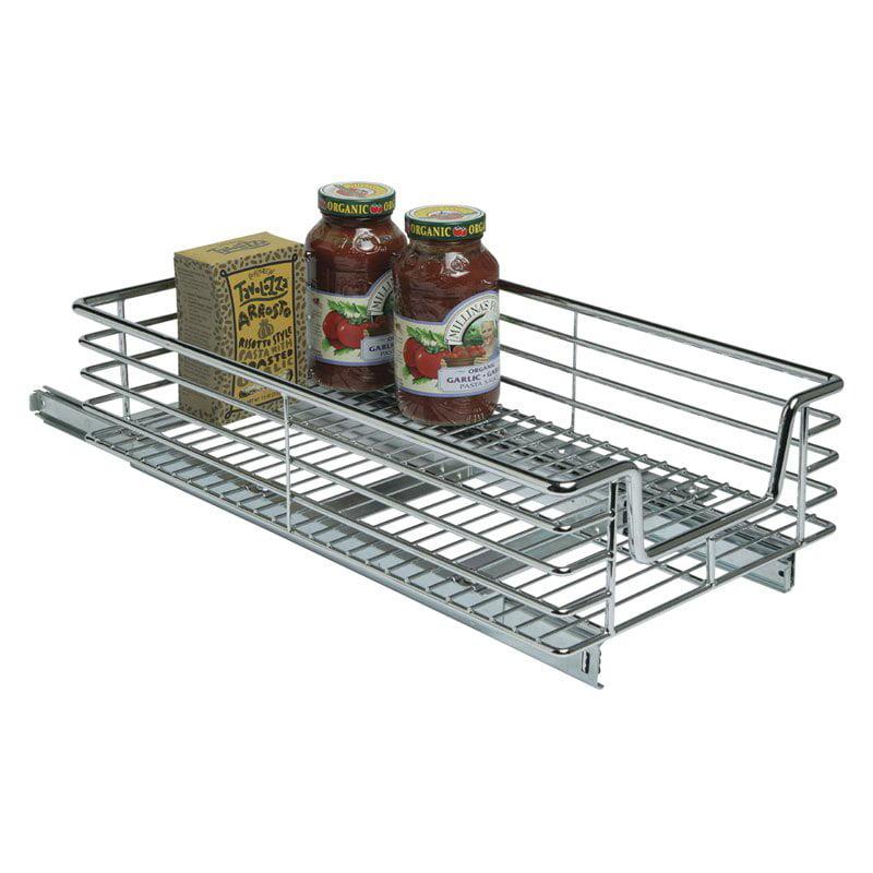 Household Essentials C1221-1 11.5 inch Extra Deep Sliding Organizer-Chrome
