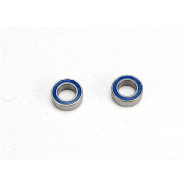 Traxxas TRA5124 Ball Bearings Blue Rubber Sealed by TRAXXAS