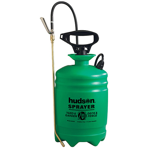 Hudson 66193 3 Gallon Yard & Garden/Deck & Fence Sprayer