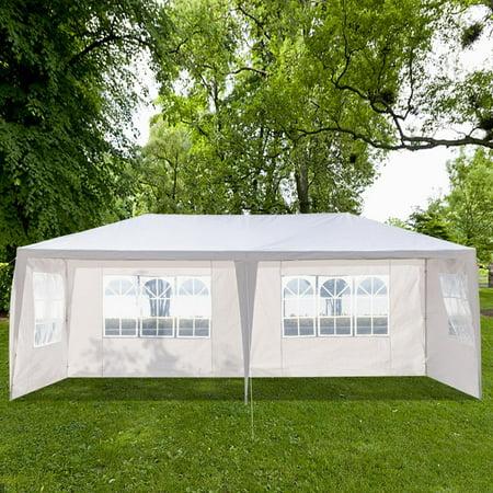 Ktaxon 10' x 20' Party Tent Wedding Canopy Gazebo Wedding Tent Pavilion with 4 Side Walls