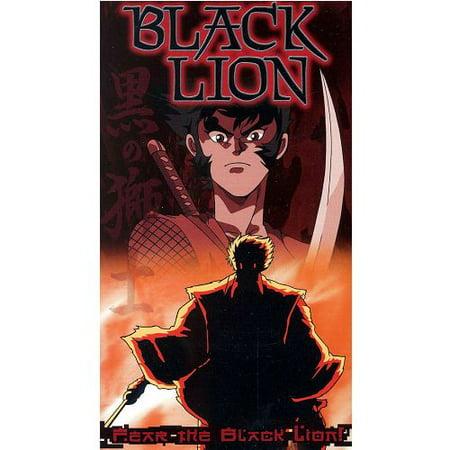 Black Lion (1989) Anime Japanese Dialogue VHS Tape