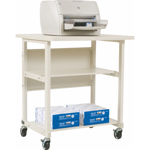 Balt Mobile Printer Stand with 2 Shelves
